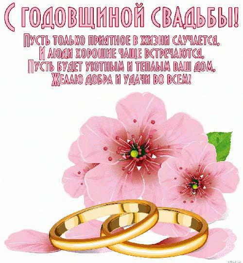 Скачать открытку с юбилеем свадьбы