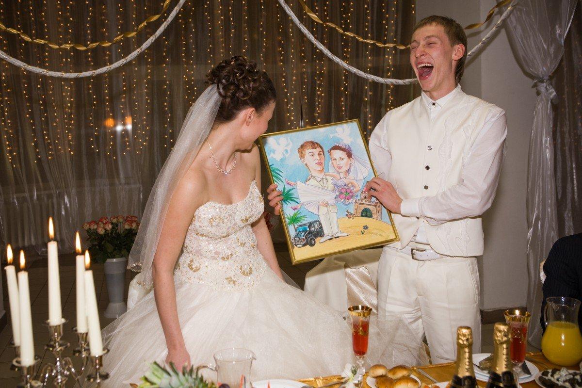 Самое необычное поздравление в день свадьбы