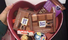 Миниатюра к статье Идеи шоколадных подарков для девушек