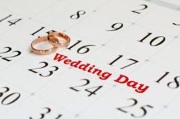 Какие красивые даты для свадьбы в 2019 году будут